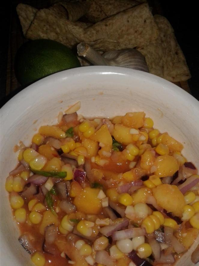 country peach salsa 2