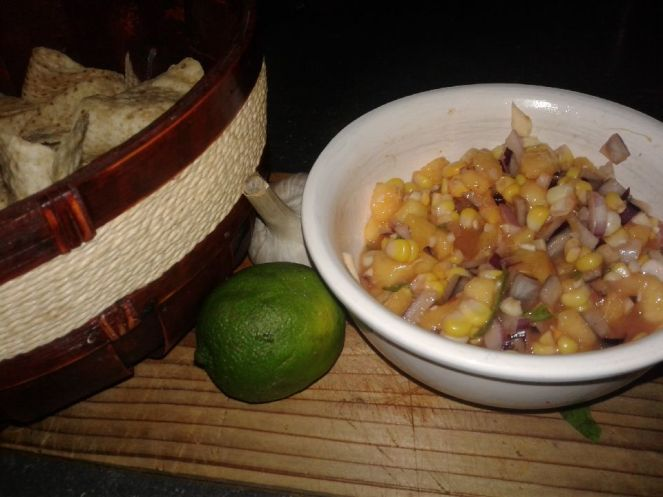 country peach salsa